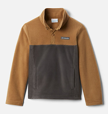 Kids' Steens Mountain™ 1/4 Snap Fleece Pull-Over Steens Mtn™ 1/4 Snap Fleece Pull-over | 013 | L, Delta, Shark, front