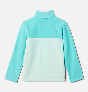 Kids' Steens Mountain™ 1/4 Snap Fleece Pull-Over Steens Mtn™ 1/4 Snap Fleece Pull-over | 013 | L, Sea Ice, Dolphin, back