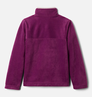Girls' Steens Mtn™ Fleecepullover Steens Mtn™ 1/4 Snap Fleece Pull-over | 466 | XS, Plum, back