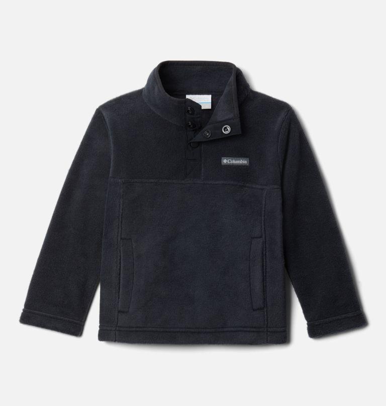 Steens Mtn™ 1/4 Snap Fleece Pull-over | 013 | 4T Toddler Steens Mtn™ Quarter Snap Fleece Pullover, Black, front