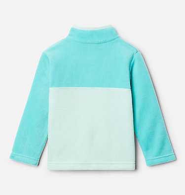 Toddler Steens Mtn™ 1/4 Snap Fleece Pull-over Steens Mtn™ 1/4 Snap Fleece Pull-over | 614 | 2T, Sea Ice, Dolphin, back