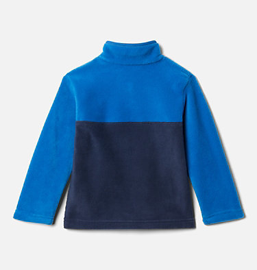 Toddler Steens Mtn™ 1/4 Snap Fleece Pull-over Steens Mtn™ 1/4 Snap Fleece Pull-over | 614 | 2T, Collegiate Navy, Bright Indigo, back