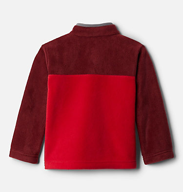 Toddler Steens Mtn™ 1/4 Snap Fleece Pull-over Steens Mtn™ 1/4 Snap Fleece Pull-over | 614 | 2T, Mountain Red, Red Jasper, back