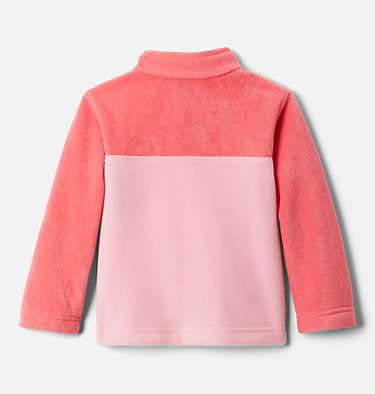 Toddler Steens Mtn™ 1/4 Snap Fleece Pull-over Steens Mtn™ 1/4 Snap Fleece Pull-over | 614 | 2T, Pink Orchid, Bright Geranium, back