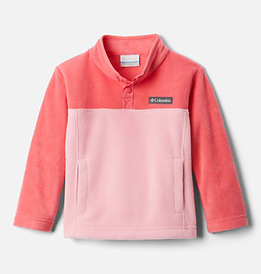 Toddler Steens Mtn™ 1/4 Snap Fleece Pull-over Steens Mtn™ 1/4 Snap Fleece Pull-over | 614 | 2T, Pink Orchid, Bright Geranium, front