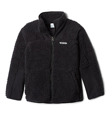 Chandail à fermeture éclair en Sherpa Winter Pass™ pour enfant Winter Pass™ Sherpa  Full Zip | 039 | M, Black, front