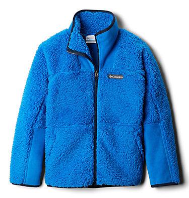 Chandail à fermeture éclair en Sherpa Winter Pass™ pour enfant Winter Pass™ Sherpa  Full Zip | 438 | XL, Super Blue, front