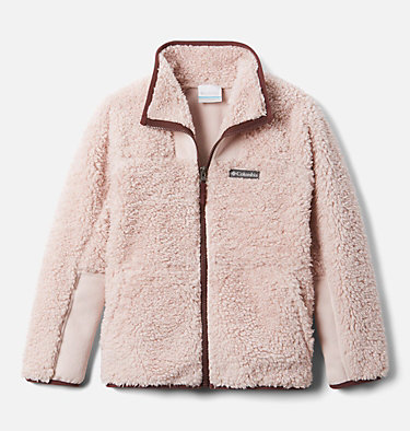 Chandail à fermeture éclair en Sherpa Winter Pass™ pour enfant Winter Pass™ Sherpa  Full Zip | 039 | M, Mineral Pink, Malbec, front