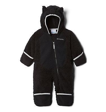 Infant Foxy Baby Sherpa Bunting Foxy Baby™Sherpa Bunting | 012 | 0/3, Black, Slate Grey, a1