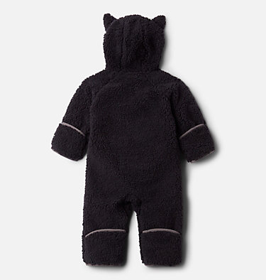 Infant Foxy Baby™ Sherpa Bunting Foxy Baby™Sherpa Bunting | 012 | 0/3, Black, back