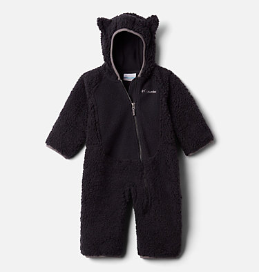 Foxy Baby Sherpa-Strampler für Babys Foxy Baby™Sherpa Bunting | 012 | 0/3, Black, front