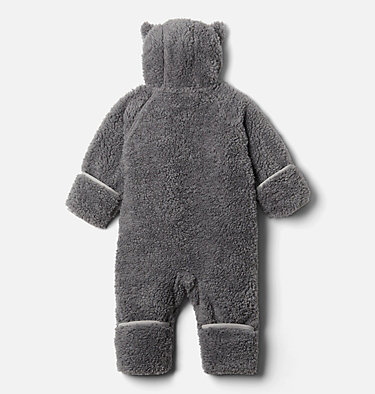 Combinaison en Sherpa Foxy Baby™ pour bébé Foxy Baby™Sherpa Bunting | 012 | 3/6, City Grey, Columbia Grey, back
