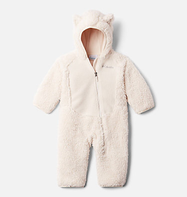 Infant Foxy Baby Sherpa Bunting Foxy Baby™Sherpa Bunting | 012 | 0/3, Chalk, front