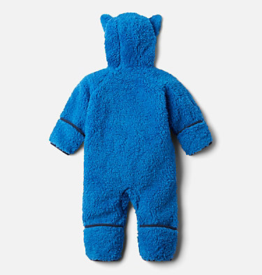 Infant Foxy Baby Sherpa Bunting Foxy Baby™Sherpa Bunting | 012 | 0/3, Bright Indigo, back