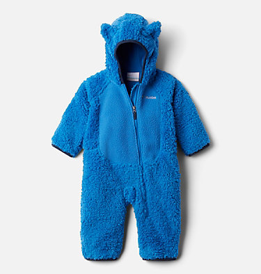 Combinaison en Sherpa Foxy Baby™ pour bébé Foxy Baby™Sherpa Bunting | 012 | 3/6, Bright Indigo, front