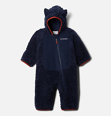 Infant Foxy Baby Sherpa Bunting Foxy Baby™Sherpa Bunting | 012 | 0/3, Collegiate Navy, front