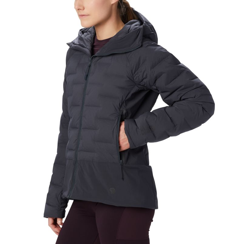 Super/DS™ Climb Hoody | 004 | XL Women's Super/DS™ Stretchdown Climb Hoody, Dark Storm, a4