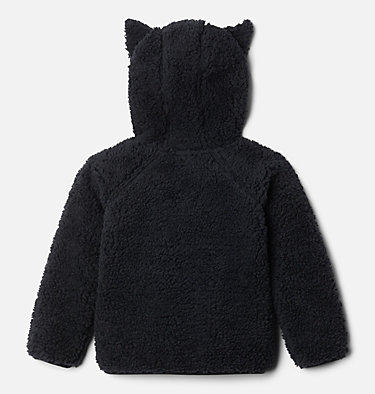 Toddler Foxy Baby™ Sherpa Jacket Foxy Baby™Sherpa Full Zip | 010 | 3T, Black, back