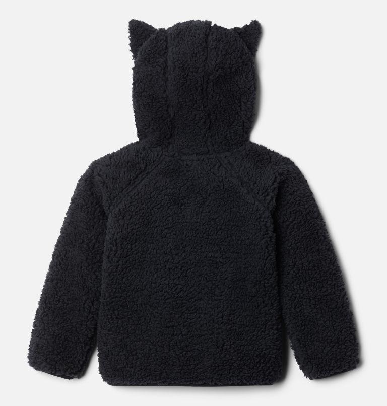 Foxy Baby™Sherpa Full Zip | 010 | 4T Toddler Foxy Baby™ Sherpa Jacket, Black, back
