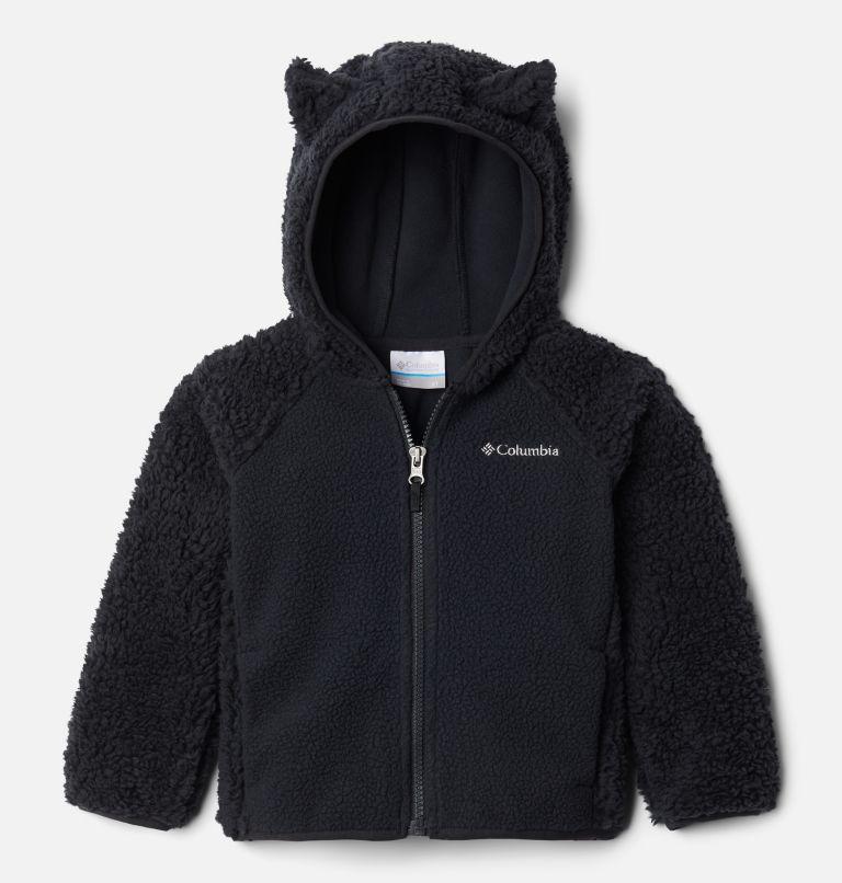 Foxy Baby™Sherpa Full Zip | 010 | 4T Toddler Foxy Baby™ Sherpa Jacket, Black, front