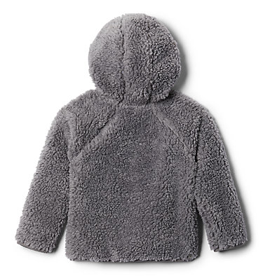 Toddler Foxy Baby™ Sherpa Jacket Foxy Baby™Sherpa Full Zip | 010 | 3T, City Grey, Columbia Grey, back