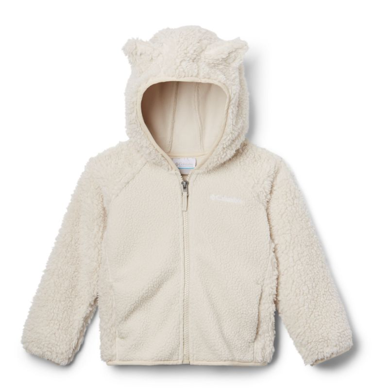 Foxy Baby™ Sherpa Full Zip | 102 | 4T Toddler Foxy Baby™ Sherpa Jacket, Fawn, back