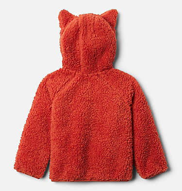 Chandail en laine polaire à fermeture éclair en Sherpa Foxy Baby™ pour tout-petit Foxy Baby™Sherpa Full Zip | 584 | 4T, Dark Sienna, Chalk, back