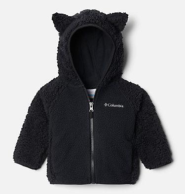 Infant Foxy Baby™ Sherpa Jacket Foxy Baby™Sherpa Full Zip   248   0/3, Black, front