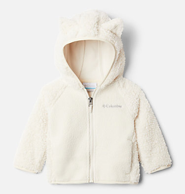 Infant Foxy Baby™ Sherpa Jacket Foxy Baby™Sherpa Full Zip   248   0/3, Chalk, front