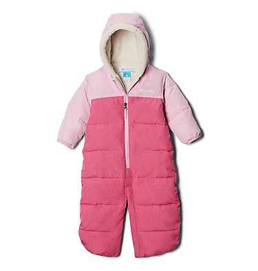 Infant Pike Lake™ Convertible Onesie Pike Lake™Convertible Onesie | 673 | 12/18, Pink Ice Heather, Pink Clover Heather, a1