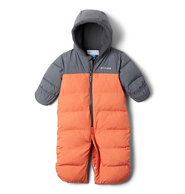 Infant Pike Lake™ Convertible Onesie Pike Lake™Convertible Onesie | 673 | 12/18, State Orange Heather, Grill Heather, a1