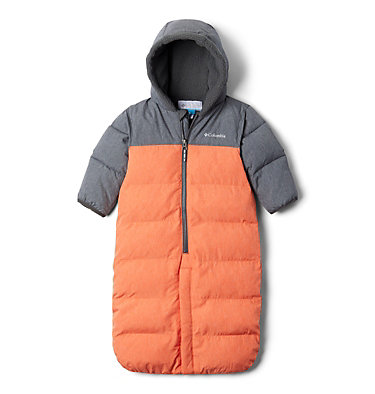 Combinaison convertible Pike Lake™ pour bébé Pike Lake™Convertible Onesie | 695 | 12/18, State Orange Heather, Grill Heather, front