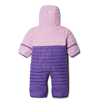 Infant Powder Lite™ Reversible Bunting Powder Lite™Reversible Buntin   695   12/18, Grape Gum, Pink Clover, back