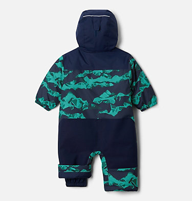 Infant Alpine Free Fall™ Suit Alpine Free Fall™ Suit | 689 | 3/6, Collegiate Navy Scenic, Collegiate Navy, back