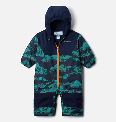 Infant Alpine Free Fall™ Suit Alpine Free Fall™ Suit | 689 | 3/6, Collegiate Navy Scenic, Collegiate Navy, front