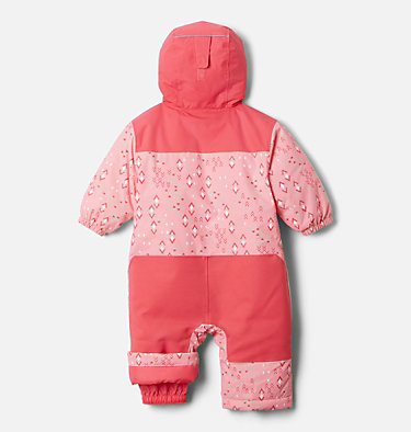 Infant Alpine Free Fall™ Suit Alpine Free Fall™ Suit | 689 | 3/6, Pink Orchid Geo Sprinkles, Brt Geranm, back