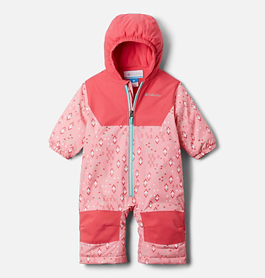 Infant Alpine Free Fall™ Suit Alpine Free Fall™ Suit | 689 | 3/6, Pink Orchid Geo Sprinkles, Brt Geranm, front