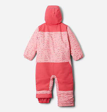 Toddler Alpine Free Fall™ Suit Alpine Free Fall™ Suit | 466 | 2T, Pink Orchid Geo Sprinkles, Brt Geranm, back