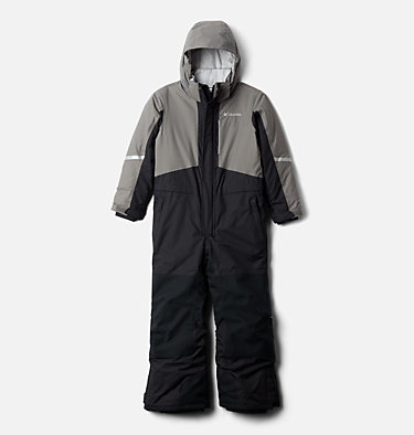 Kids' Buga II™ Snowsuit Buga™ II Suit | 673 | XS, Black, City Grey, front