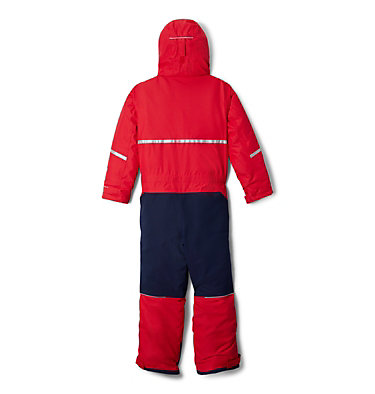 Youth Buga II Snowsuit Buga™ II Suit | 316 | L, Mountain Red, Collegiate Navy, back