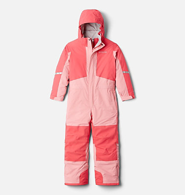 Youth Buga II Snowsuit Buga™ II Suit | 316 | L, Bright Geranium, Pink Orchid, front