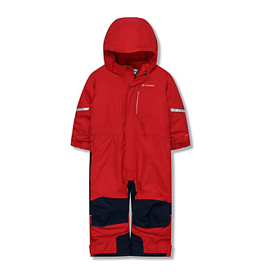 Youth Buga II Snowsuit Buga™ II Suit | 464 | 2T, Mountain Red, Collegiate Navy, front