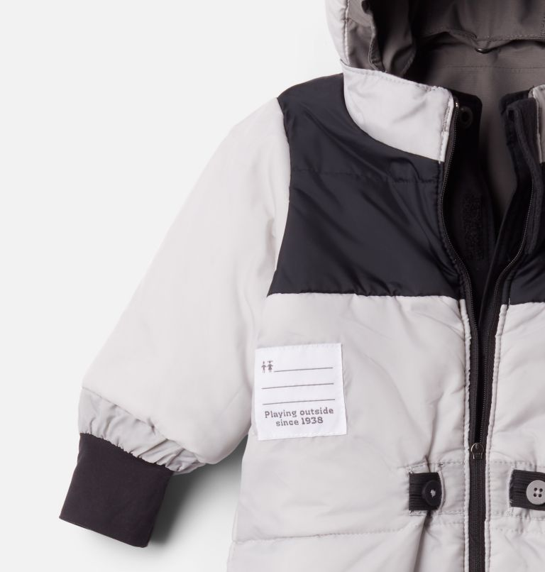 Buga™ II Suit | 011 | 12/18 Infant Buga II™ Snowsuit, Black, City Grey, a1