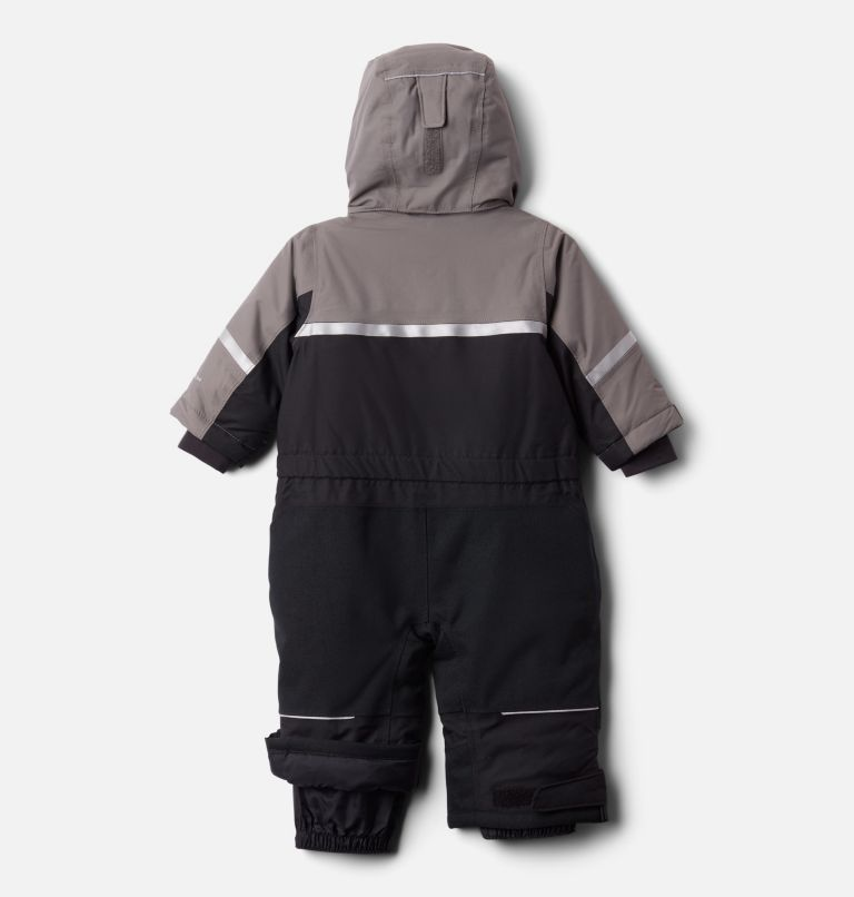 Buga™ II Suit | 011 | 12/18 Infant Buga II Snowsuit, Black, City Grey, back