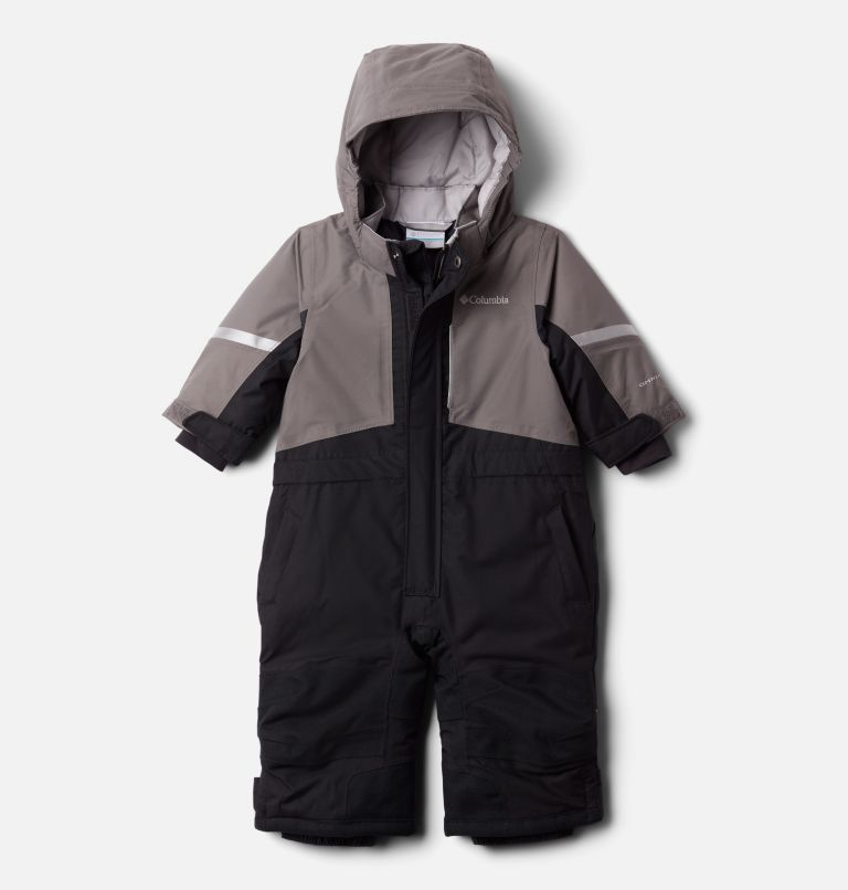 Buga™ II Suit | 011 | 12/18 Infant Buga II Snowsuit, Black, City Grey, front