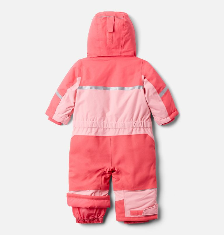 Buga™ II Suit | 673 | 6/12 Infant Buga II Snowsuit, Bright Geranium, Pink Orchid, back