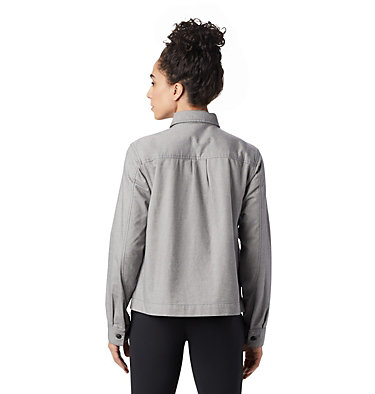 Women's Moiry™ Shirt Jacket Moiry™ Shirt Jacket | 310 | L, Heather Graphite, back