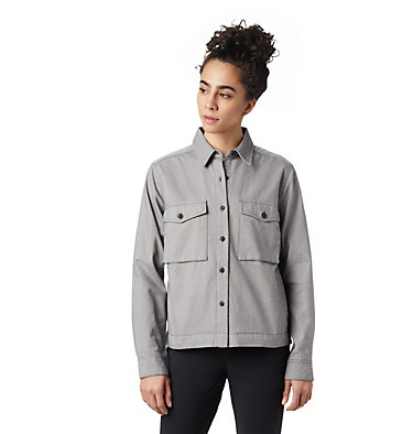 Women's Moiry™ Shirt Jacket Moiry™ Shirt Jacket | 310 | L, Heather Graphite, front
