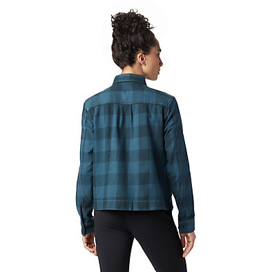 Women's Moiry™ Shirt Jacket Moiry™ Shirt Jacket | 310 | L, Blue Spruce, back