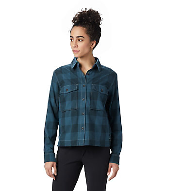 Women's Moiry™ Shirt Jacket Moiry™ Shirt Jacket | 310 | L, Blue Spruce, front